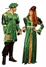 Women's Costume Famous Medieval Ages Dress Lord of the castle Men's Robe m