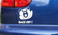 Back Off! Ted Movie Film Novelty Funny Custom Car Bumper Window Stickers Decals