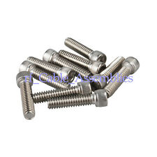 "100X kinds of Stainless Steel Hexagon Socket Head Cap Screws #6-32*1/4""/3/8"""