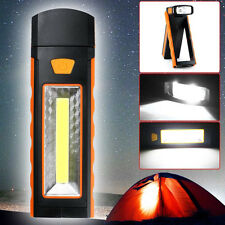COB LED Flashlight Camping Lamp Inspection Working Tent Light Magnetic Torch lot