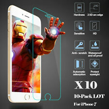 HOT 10x Wholesale 9H 0.26mm Tempered Glass Screen Protector for Apple iPhone 7