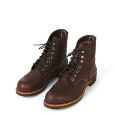 Red Wing Men's Iron Ranger Boots Amber Harness Leather 8111