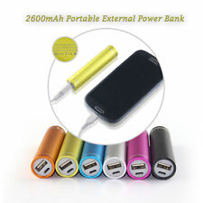 Portable 2600mAh USB Power Bank External Battery Charger For CellPhone Samsung