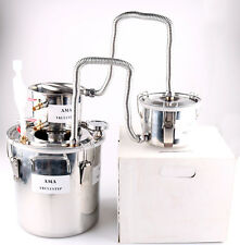3 Pots Home Distiller Boiler Moonshine Still Stainless Steel Alcohol Oil Water