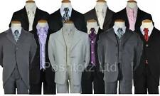 Boys Suit 5pce suits 0-3mth-14-15yrs pageboy christening formal, pageboy, weddin