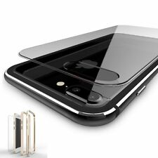 Luxury Hybrid Aluminum Metal Gel Bumper Clear Hard Case For iPhone 6 6s 7 Plus