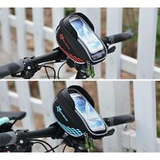 GPS Touch Screen Bicycle Bike Handlebar Phone Bag Holder Cycling Bag GREAT P7B4