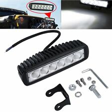 Car Truck 18W LED Work Light Bar Reversing Flood Lamp Jeep Boat 4WD 12V 24V CC