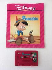 Walt Disney Read Along Book and Tape Pinocchio 24 Page Book 1992