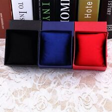 Present Gift Boxes Case For Bangle Jewelry Ring Earrings Wrist Watch Box LS