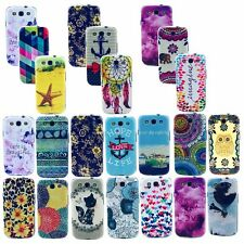 Painting Patterned TPU Thin Case Cover for Samsung Galaxy S3 S4 S5 Mini Note 3 4