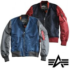 Alpha Industries Jacket MA-1 TT 2C Flight Jacket Flyer Bomber Jacket NEW