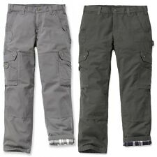 Carhartt Men's Trousers Flannel Ripstop Cargo Pants Workout Work NEW