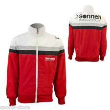 New Sonneti Mens Track Top Jacket Designer Top Red / White - BNWT