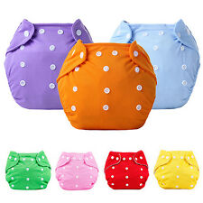 Reusable Baby Infant Nappy Dotted Cloth Washable Diapers Soft Covers Nimble