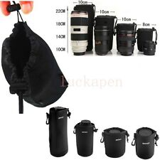 Matin Neoprene waterproof Soft Camera Lens Pouch bag Case Size- S M L XL L Top