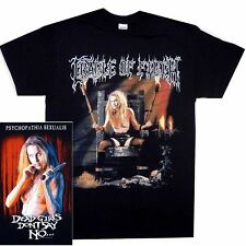Cradle Of Filth Dead Girls Shirt S M L XL Metal Band T-Shirt Official Tshirt New