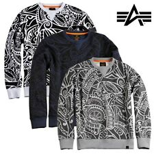 Alpha Industries Men'S Sweater Tonga MA1 TT S M L XL XXL 3XL NEW