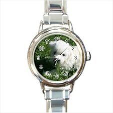 Bolognese Dog Italian Charm Watch (Battery Included)