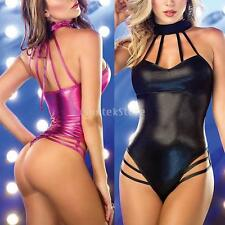 Sexy Womens Backless Romper Sleepwear Lingerie Jumpsuits One Size