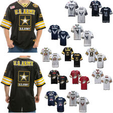 Rapid Dominance Military Football Jersey Navy Air Force Army Marines T Shirt Tee