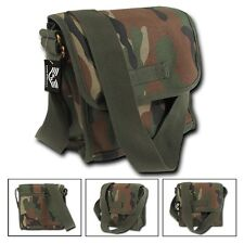 Rapid Dominance Cotton Canvas Camo Military Field Messenger Bag Bags BackPack