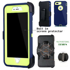 For Apple iPhone Case Cover  Teal G - (Belt Clip fits Otterbox Defender series)