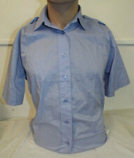 WRAF WOMENS ROYAL AIR FORCE BLUE SHIRT , Sizes , British Military LADIES