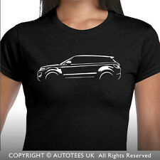RANGE ROVER EVOQUE LAND ROVER INSPIRED LADIES SOFTSTYLE CAR T-SHIRT