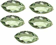 5x10mm - 8x16mm Natural Green Amethyst Marquise Cut Top Quality Loose Gemstone