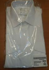 MAN'S WHITE LONG & SHORT SLEEVE POLICE OFFICERS SECURITY SHIRT - Sizes , New