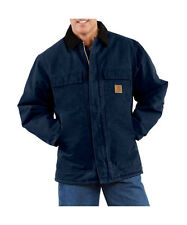 Carhartt Sandstone Duck Arctic Traditional Jacket - Quilt Lined - MIDNIGHT BLUE