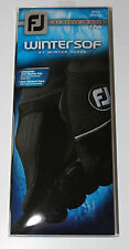 FootJoy WinterSof Mens Golf Gloves - Pair - Black - New in Package