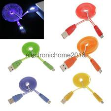 Light Up LED Micro USB Data Sync Charging Cable for Andriod HTC Samsung S3 S4
