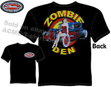 1930 1931 Ford T Shirt 30 31 Hot Rod Clothing Zombie Den Ratrod Pin Up Girl Tee