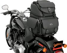 Saddlemen BR3400EX/S Combination Backrest, Seat and Sissy Bar Bag #