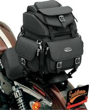Saddlemen BR1800EX/S Combination Backrest, Seat and Sissy Bar Bag #