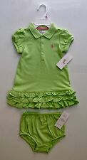 NEW WITH TAG RALPH LAUREN POLO BABY GIRL DRESS
