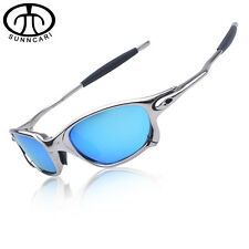 SUNNCARI Men Polarized Cycling sunglasses Alloy Frame Sport Riding Eyewear CP5-2