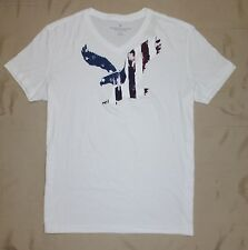 American Eagle Men Graphic V-Neck T-Shirt Size L, XL  new with tags
