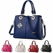 Women Ladies PU Leather Handbag Shoulder Bag Tote Purse Messenger Hobo Satchel