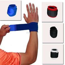 Support Bodybuilding Protector Wrist Weight Lifting Training Gym Straps Bracers