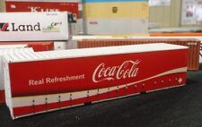 CoCa Cola Shipping Container for HO and N scale Railway Model Trains