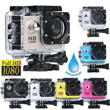 1080P Full HD1080P DV Sports Recorder Car Cam Waterproof Action Camera Camcorde