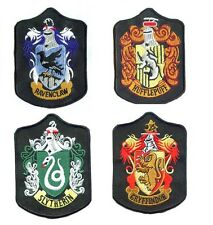 Harry Potter Gryffindor Slytherin Ravenclaw Hufflepuff Embroidery Badge