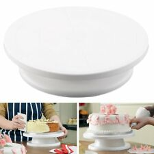 11 Rotating Revolving Cake Plate Decorating Turntable Kitchen Display Stand LO
