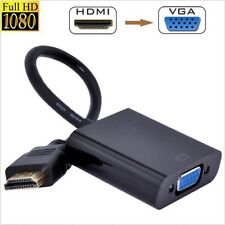 HDMI Male to Female HDMI to VGA Video Converter adapter 1080P for PC OL