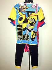 NWT Little Boys Transformers 4 Piece Mix and Match Pajama Set - SIZES