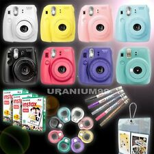 Fuji Instax Mini 8 Camera Fujifilm Instant Photo / Film / Selfie Lens / Pen
