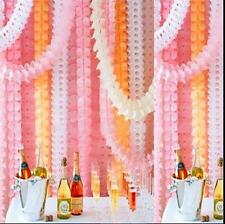 Hanging Paper Garlands Flora Chain Wedding Party Ceiling Banner Decoration UK